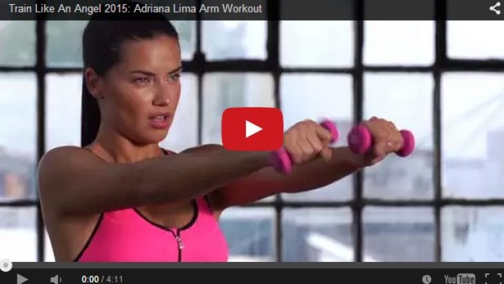 Adriana Lima'dan Boks Dersi