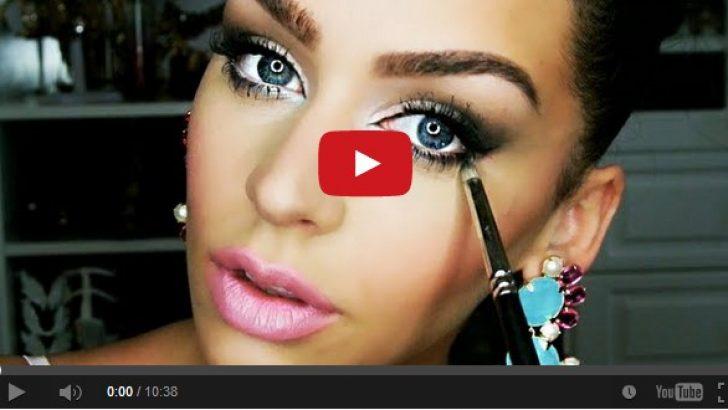 Makyaj İle Gözlerinizi Daha Büyük Gösterebilirsiniz !