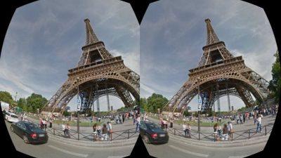 Google Earth'ta sanal gerçeklik
