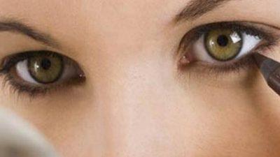 Küçük gözlere sahip kadınlar için 3 makyaj hilesi!