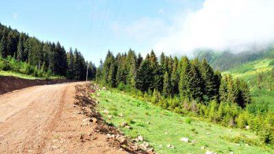 Turizm Koridoru Olacak Yeşil Yol'da Yarıya Gelindi