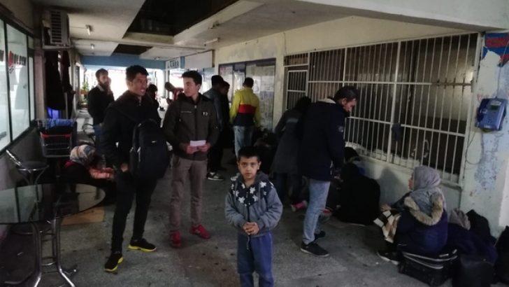 Afgan uyruklu mülteciler 'İstanbul' diye Rize'ye bırakıldı