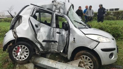 Rize'de trafik kazası ölümle sonuçlandı