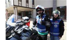 """Motosikletlerle """"Cumhuriyet Bayramı"""" Korteji"""