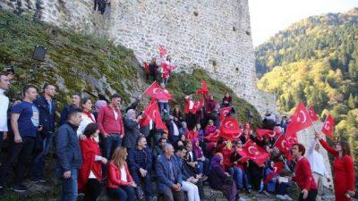 Zil Kale'de Görkemli Cumhuriyet Kutlaması