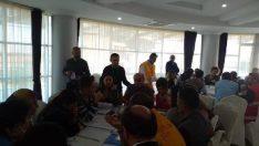 Rize'de 'Hastane Afet Planı' uygulayıcı eğitimi verildi