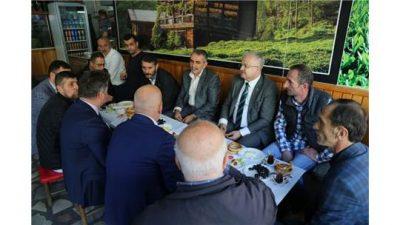 Belediye Başkanı Kasap'ın Ziyaretleri Devam Ediyor