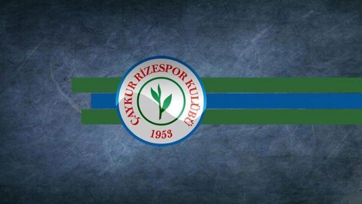 Rizespor'dan Trabzonspor maçı sonrası açıklama