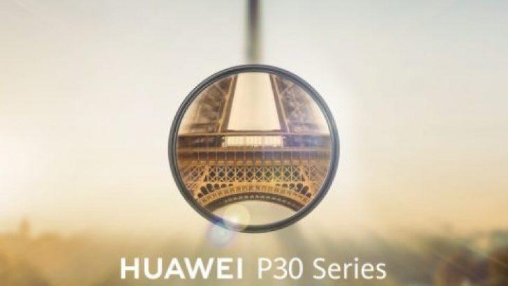 İste Huawei P30 Tanıtım Tarihi