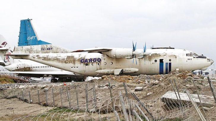 Hurda uçaklarabir ay süre verildi