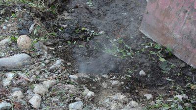 Rize'de Yerden Çıkan Esrarengiz Buhar