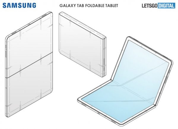 galaxy fold tab